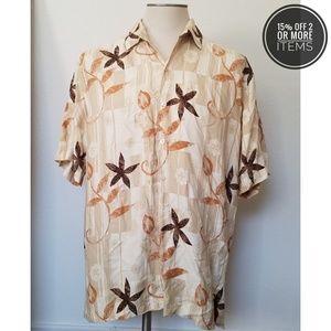 Other - The Havanera Co Short Sleeve Shirt Mens Sz L